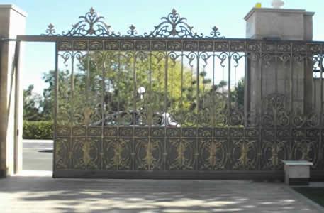 Puerta autom tica tipo corrediza puertas autom ticas en - Puertas para cocheras electricas ...